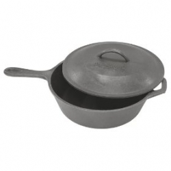 Covered Skillet