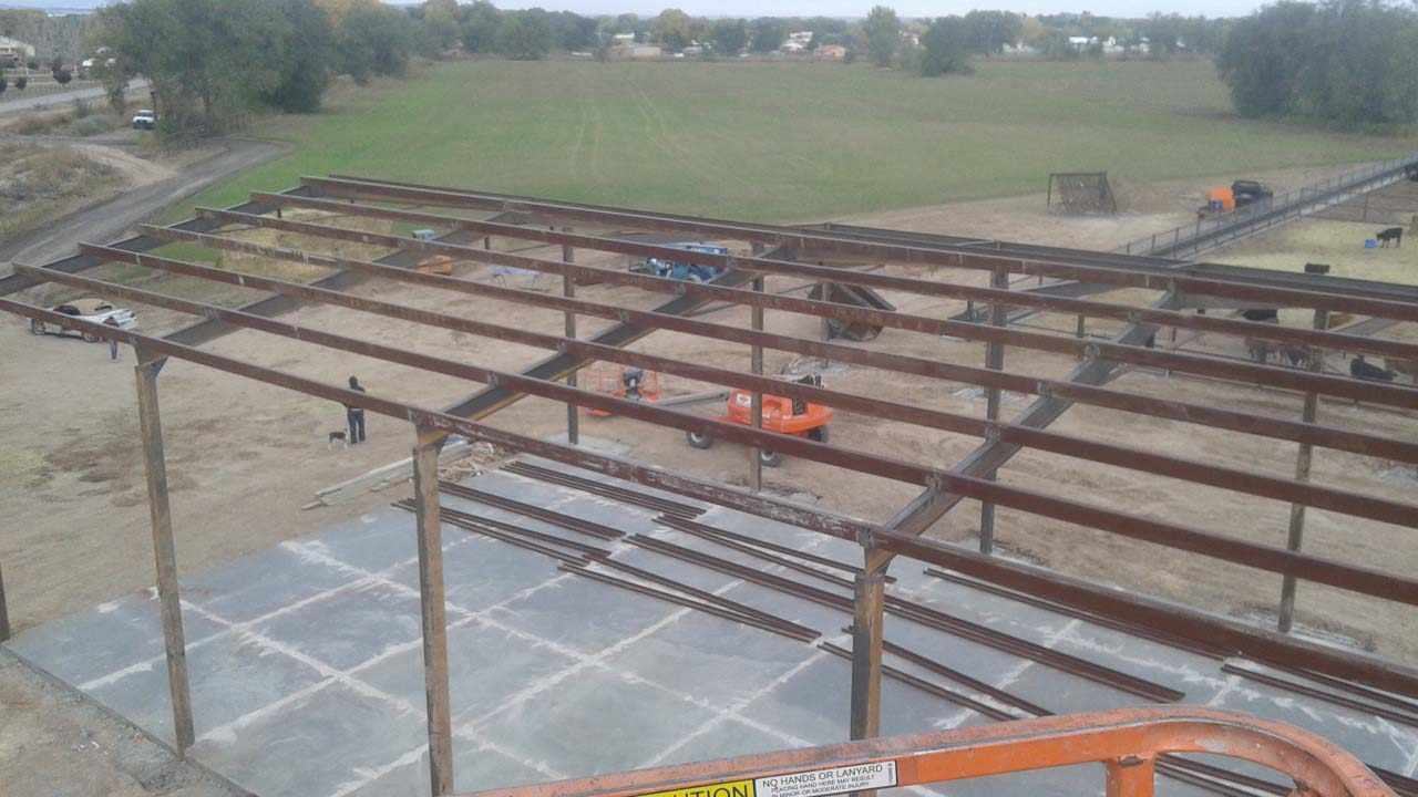 I Beam Truss Building Frame Neds Pipe And Steel