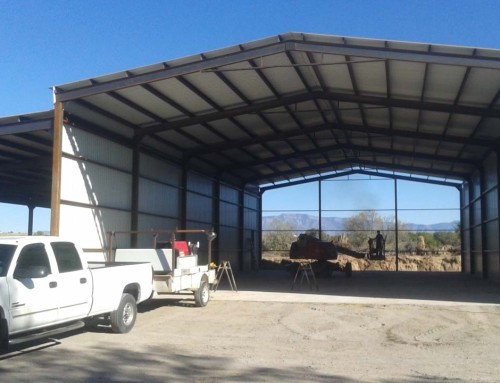 IBeam Truss Pole Barn