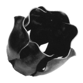 "Flower Stamped 1-1/2"" Dia 1-9/16""H .0197 Matl"